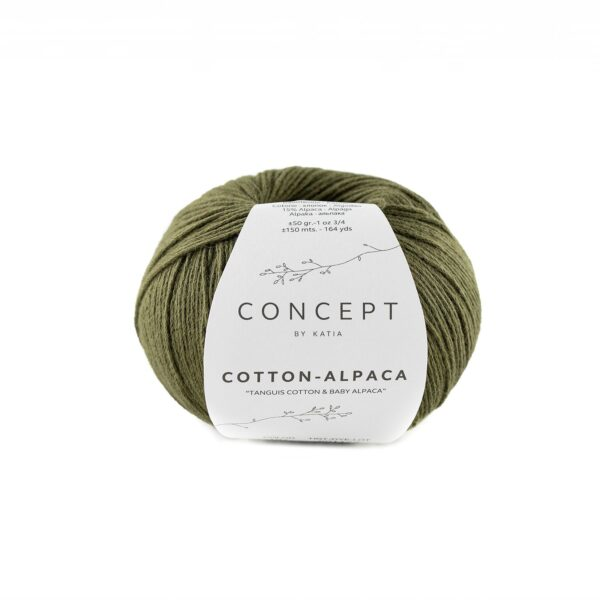 Katia Concept Cotton Alpaca 101