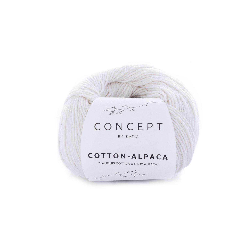 Katia Concept Cotton Alpaca 80