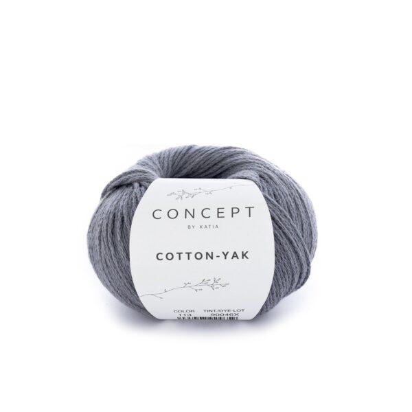 Katia Concept Cotton Yak 113