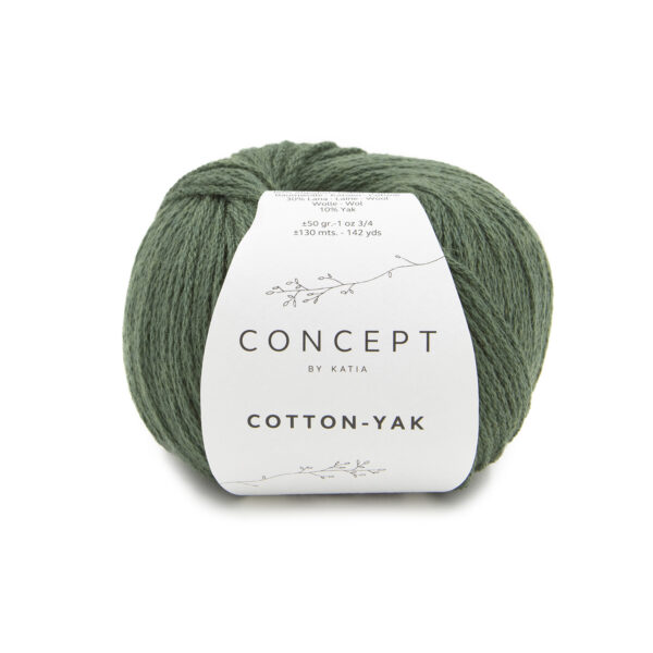 Katia Concept Cotton Yak 125