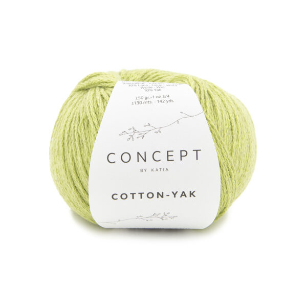 Katia Concept Cotton Yak 126