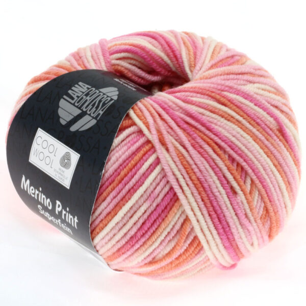 Lana Grossa Cool Wool Print 726