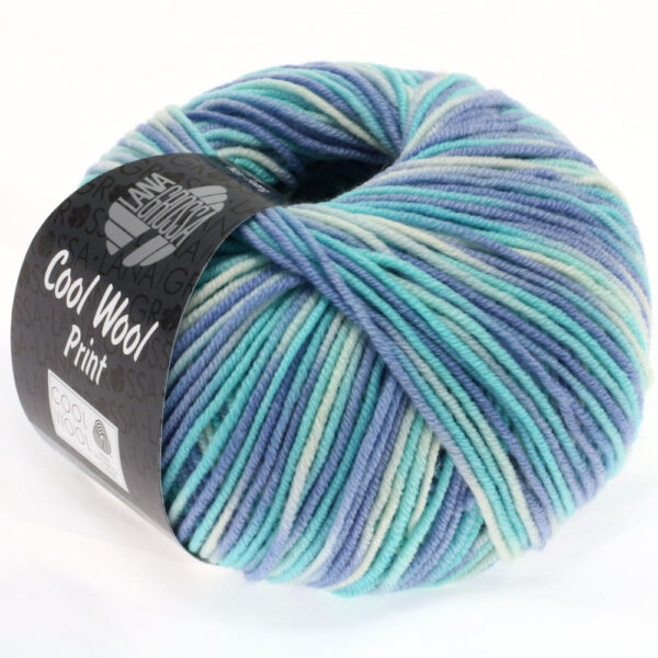 Lana Grossa Cool Wool Print 728
