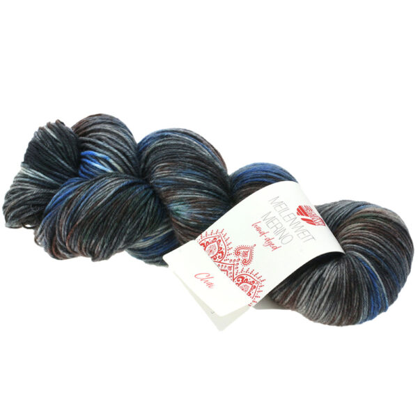 Lana Grossa Meilenweit 100 Merino Hand Dyed 406