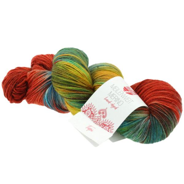 Lana Grossa Meilenweit 100 Merino Hand Dyed 408