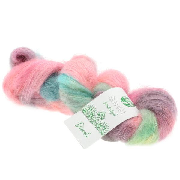 Lana Grossa Silkhair Hand Dyed 604