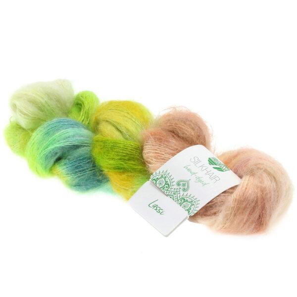 Lana Grossa Silkhair Hand Dyed 606