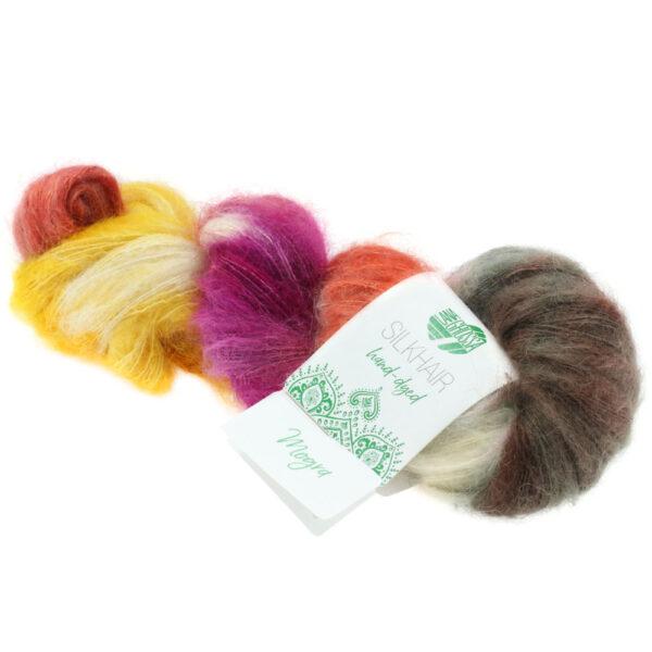 Lana Grossa Silkhair Hand Dyed 608