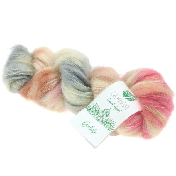 Lana Grossa Silkhair Hand Dyed 610